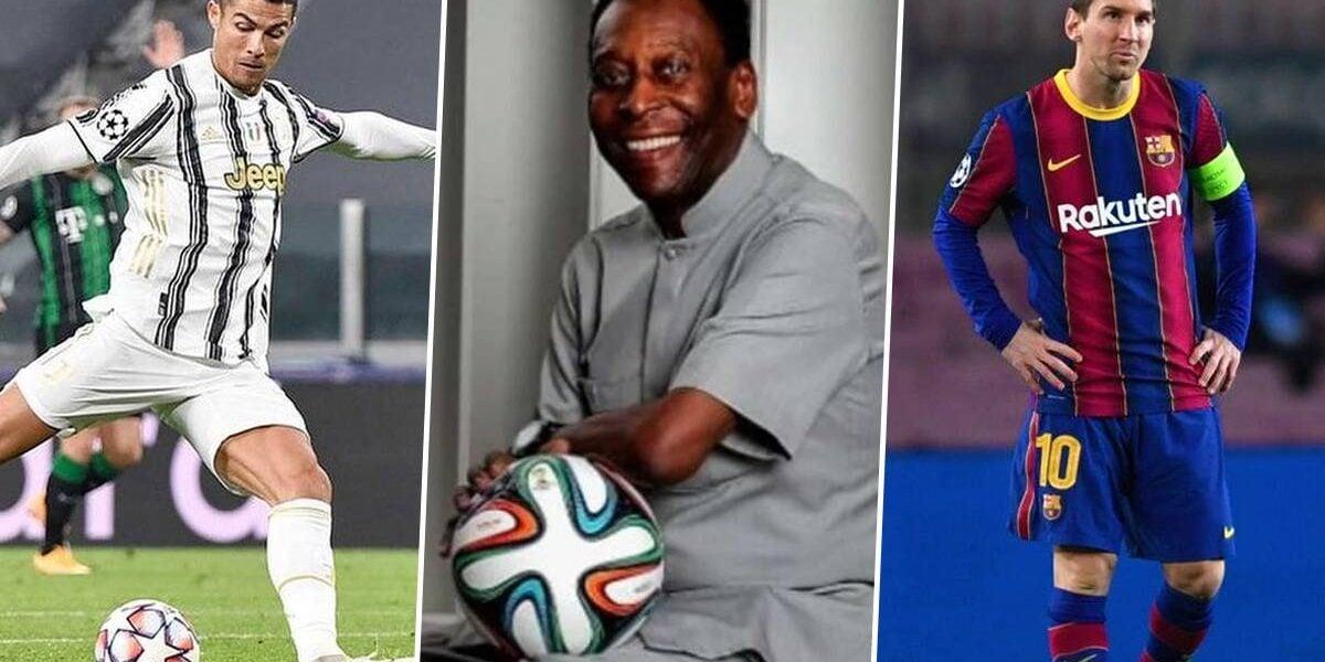 Messi et CR7 zappés, Mbappé présent… Pelé dévoile son équipe de l'année (FIFA 21)